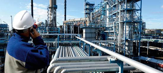 Bitumen-refinery